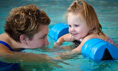 image for  $22 for a Swim-Class Package for One Student at SafeSplash Swim School ($79.50 Value)