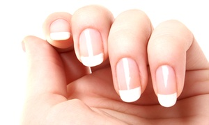 Julie Spurlock at 10th Avenue Hair Design: Acrylic Nails from Julie Spurlock at 10th Avenue Hair Design (Up to 55% Off). Three Options Available.