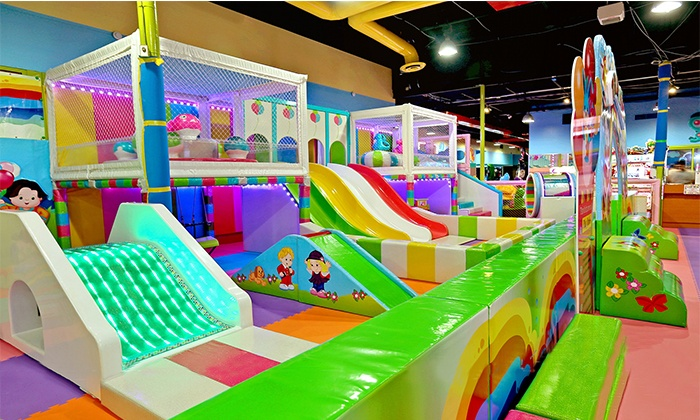 Open Playtime or a Party Package at Kid's Paradise (Up to 35% Off). Six Options Available.