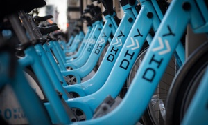 Divvy: Three 24-Hour Divvy Day Passes or One-Year Gear Membership to Divvy (48% Off)