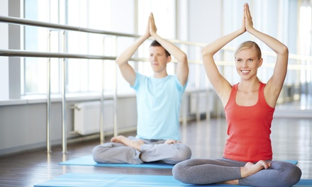 Up to 74% Off Yoga Classes  at Hamila's Uplifts