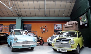London Motor Museum: London Motor Museum: Adult, Child of Family Ticket (Up to 47% Off)