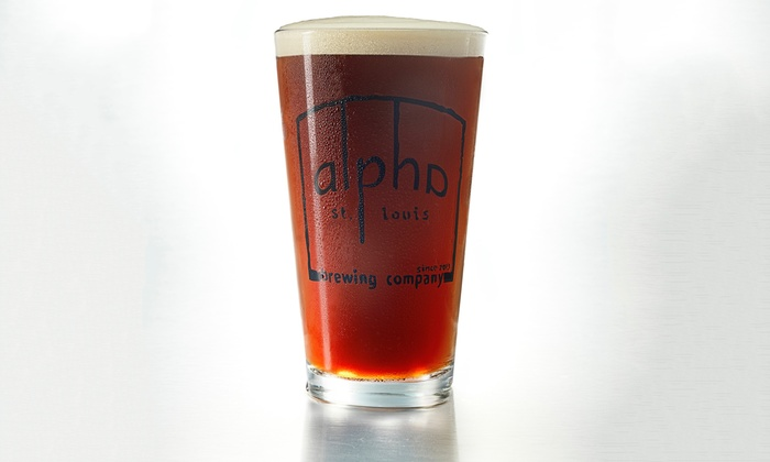 Alpha Brewing Company - Downtown St. Louis: Beer Tastings with Take-Home Brews at Alpha Brewing Company (Up to 49% Off)