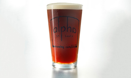 Beer Tastings with Take-Home Brews at Alpha Brewing Company (Up to 49% Off)