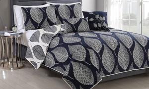 Bold Print Quilt Sets (5-piece)