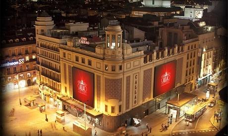 Entrada de cine para 1 o 2 personas desde 5,50 € en todos los cines Callao City Lights