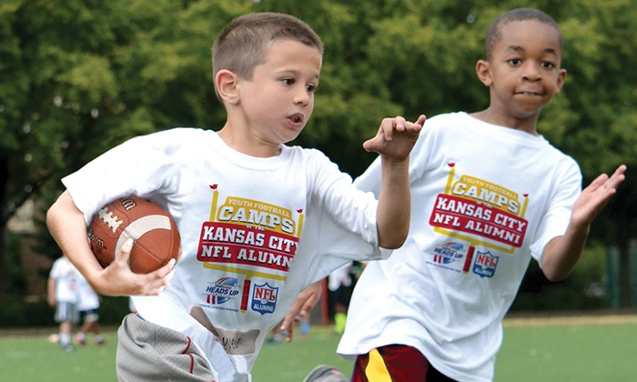 Kansas City NFL Alumni Youth Football Camps   - Multiple Locations: Kansas City NFL Alumni Hero Non-Contact Youth Football Camp Instruction for Ages 6–14 (3 Locations, 5-Day Camps)