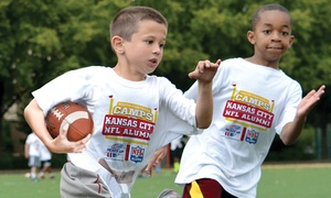Kansas City NFL Alumni Youth Football Camps  : Kansas City NFL Alumni Hero Non-Contact Youth Football Camp Instruction for Ages 6–14 (3 Locations, 5-Day Camps)