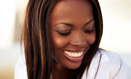 $49 for a Silk Press with a Hydration Treatment, Haircut, and Style at Gresham Giles Salon ($130 Value)