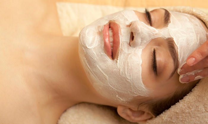 Seven Doors Salon - Downtown: $62 for Power Facial Treatment with Neck-and-Shoulder Massage at Seven Doors Salon ($125 Value)