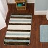 Plush Berkshire Striped Bathmat Set