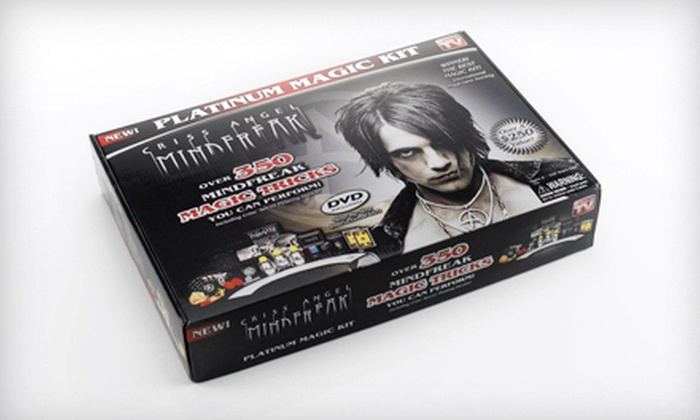 Criss Angel MindFreak Platinum Magic Set: $22 for a Criss Angel MindFreak Platinum Magic Set ($62.99 List Price). Free Shipping.