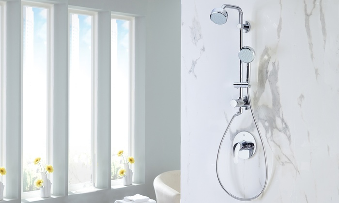 Elegant Grohe Retro Fit 100 Shower System: Grohe Retro Fit 100 Shower System ...