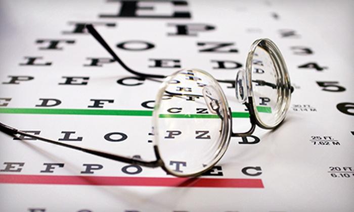 Luxoptics and Eyeland - Multiple Locations: Prescription Eyewear with Optional Exam at Luxoptics and Eyeland (Up to 88% Off)
