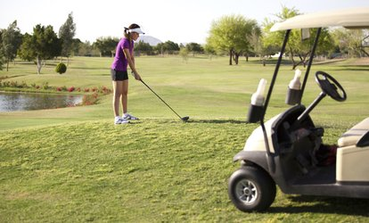 Up to 42% Off 9-Hole Golf with Cart at Royal Oak Golf Course