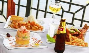 Sabor Latino Restaurant: $20 for $35 Worth of Peruvian Food and Drinks at Sabor Latino Restaurant