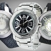 Up to 65% Off a Techno Master Men's Diamond Watches