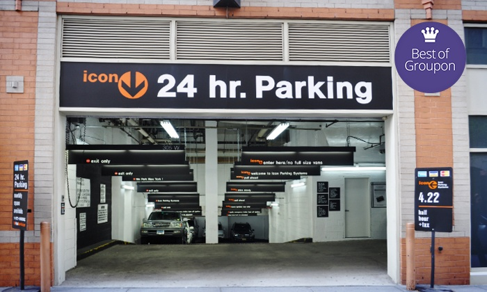 Icon Parking - Multiple Locations: 24-Hour Parking or One Month of Parking from Icon Parking Systems (Up to 62% Off). 30 Options Available.