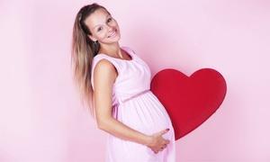 PhotoClip - Serviços Especial: PhotoClip – Santos: ensaio para gestante ou recém-nascido com fotos em DVD (opção de impressas)