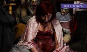 Massacre Haunted House: Valentine's Massacre for Two or Four at Massacre Haunted House on February 13 (Up to 36% Off)