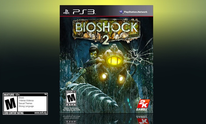 Bioshock 2 for PS3: $9.99 for Bioshock 2 for PS3 ($19.99 List Price). Free Returns.