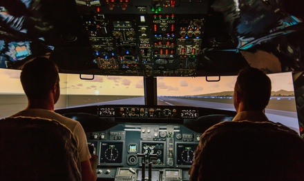 Jet Flight Simulator 30 $69 or 60Minute Experience $109 at Jet Flight Simulator Newcastle Up to $399 Value