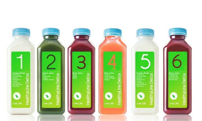 Healthy Line: Up to 50% Off Detox packages at Healthy Line