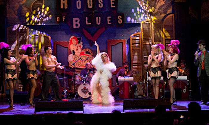 """Bustout Burlesque - House of Blues New Orleans: """"Bustout Burlesque"""" at House of Blues New Orleans on Friday, April 12, at 8 p.m. or 10:30 p.m. (Up to $31 Value)"""