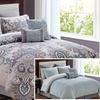 Istanbul Reversible Comforter Set (12-Piece)