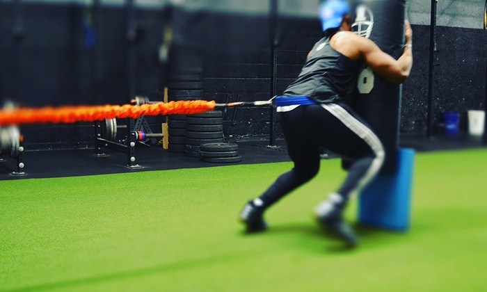 All Day Athletics - Delawanna: A Football-Training Session from All Day Athletics (50% Off)