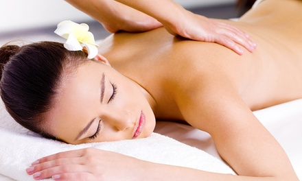 60- or 80-Minute Therapeutic Massage at Ultimate Massage Spa (Up to 53% Off)