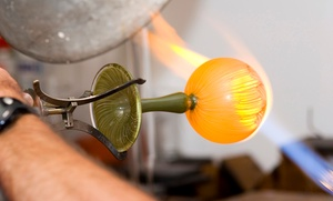 Through the fire studios: 90-Minute Glass-Blowing Class for One, Two, or Four at Through the Fire Studios Inc. (Up to 47% Off)