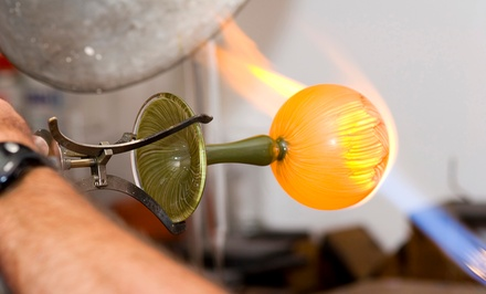 90-Minute Glass-Blowing Class for One, Two, or Four at Through the Fire Studios Inc. (Up to 47% Off)