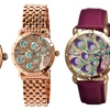 Bertha Genevieve Women's Peacock Dial Watches
