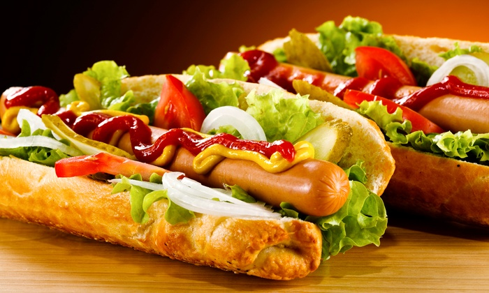 Rick's Doghouse - West Kelowna: $10 for $20 Worth of Gourmet Hot Dogs at Rick's Doghouse