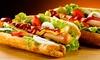 Rick's Doghouse - Gourmet Hotdogs - West Kelowna: $10 for $20 Worth of Gourmet Hot Dogs at Rick's Doghouse