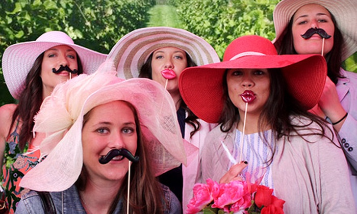 XOXO Photobooth, Photography, and Events - Lenah Run: 3- or 4-Hour Photo Booth Rental Package in Charlottesville, VA Area from XOXO Photobooth, Photography & Events (50% Off)
