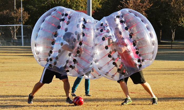 North Texas Bubble Soccer - McKinney: $175 for One Hour of Bubble Soccer for Up to 30 from North Texas Bubble Soccer ($350 Value)