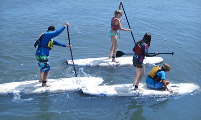 MacSailing - Kitsilano Beach: 90-Minute Stand-Up Paddleboarding Lesson for One or Eight from MacSailing (Half Off)
