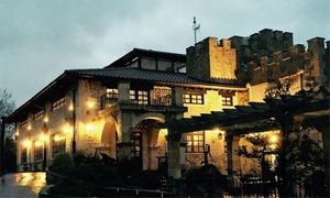 Palacio Torre de Arriaga: Menú para 2 personas con aperitivo, entrantes, principales, postre y bebida por 59,95 € en Palacio Torre de Arriaga