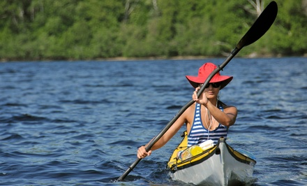 Kayak Rental for One Youth or Adult or Double Kayak or Canoe for Two at Nemasket Kayak Center (Up to 53% Off)