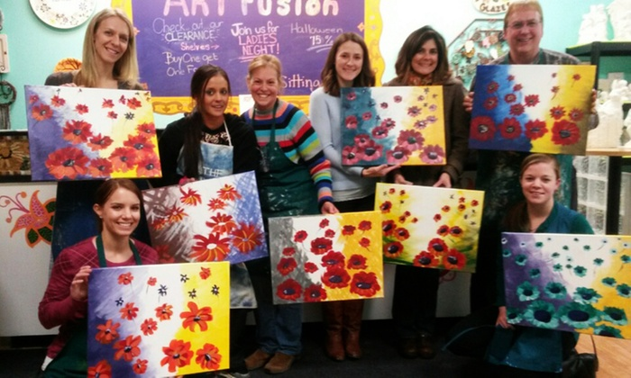 Art Fusion - Art Fusion: Paint Night for One, Two, or Four at Art Fusion (Up to 55% Off)