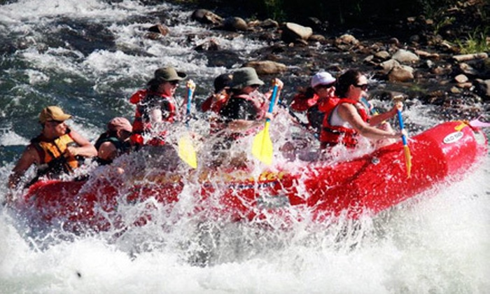 Sierra Whitewater Rafting - Camp Lotus: $59 for a 10.5-Mile South-Fork Rafting Trip from Sierra Whitewater (Up to $120 Value)