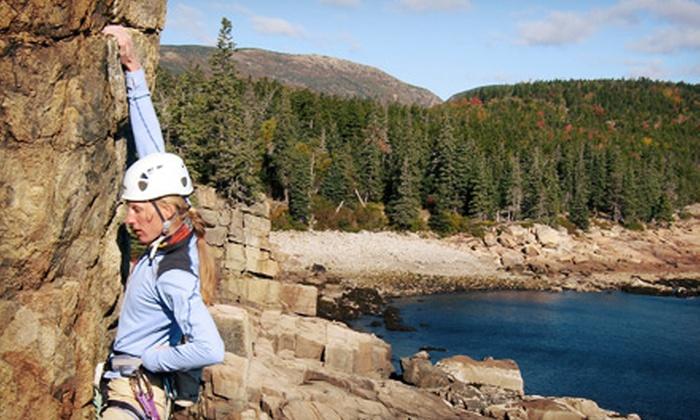 Acadia Mountain Guides Climbing School - Bar Harbor: Half-Day Rock-Climbing Trip for Two or Four from Acadia Mountain Guides Climbing School (Up to 45% Off)