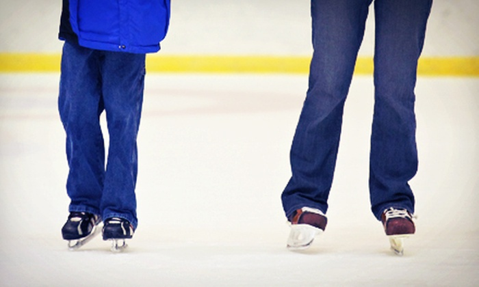 Cedar Rock Skating Academy - Cedar Springs: $25 for Four Weekly Group Ice-Skating Lessons at Cedar Rock Skating Academy ($50 Value)