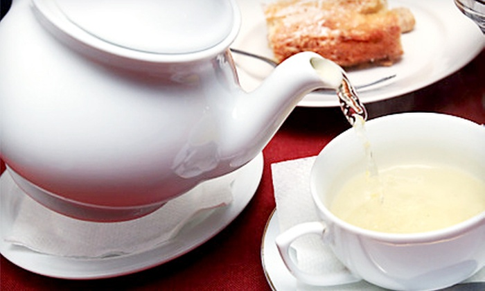 Harry Ten Shilling - Stratford: Afternoon Tea for Two or Four at Harry Ten Shilling in Stratford (Up to 53% Off)