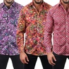 Suslo Couture Men's Printed Shirt