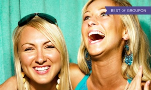 Guestlist DJ and Entertainment: Two- or Three-Hour Photo-Booth Rental with Unlimited Prints from Guestlist DJ and Entertainment (55% Off)