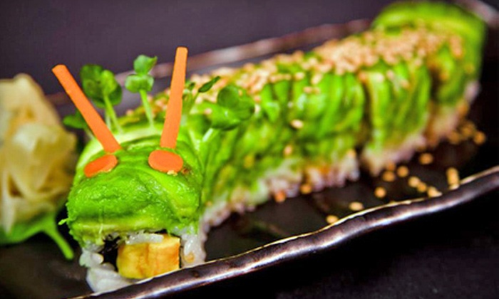 Izakaya Sushi Bar by Mr. Koji's - Hollywood: $45 for Sushi Meal for Two with Tapas, Drinks, and Dessert at Izakaya Sushi Bar by Mr. Koji's (Up to $97.97 Value)