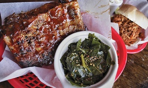 Mojo Bones: Two Groupons, Each Good for $10 Towards Lunch, or $25 Worth of Barbecue at Mojo Bones